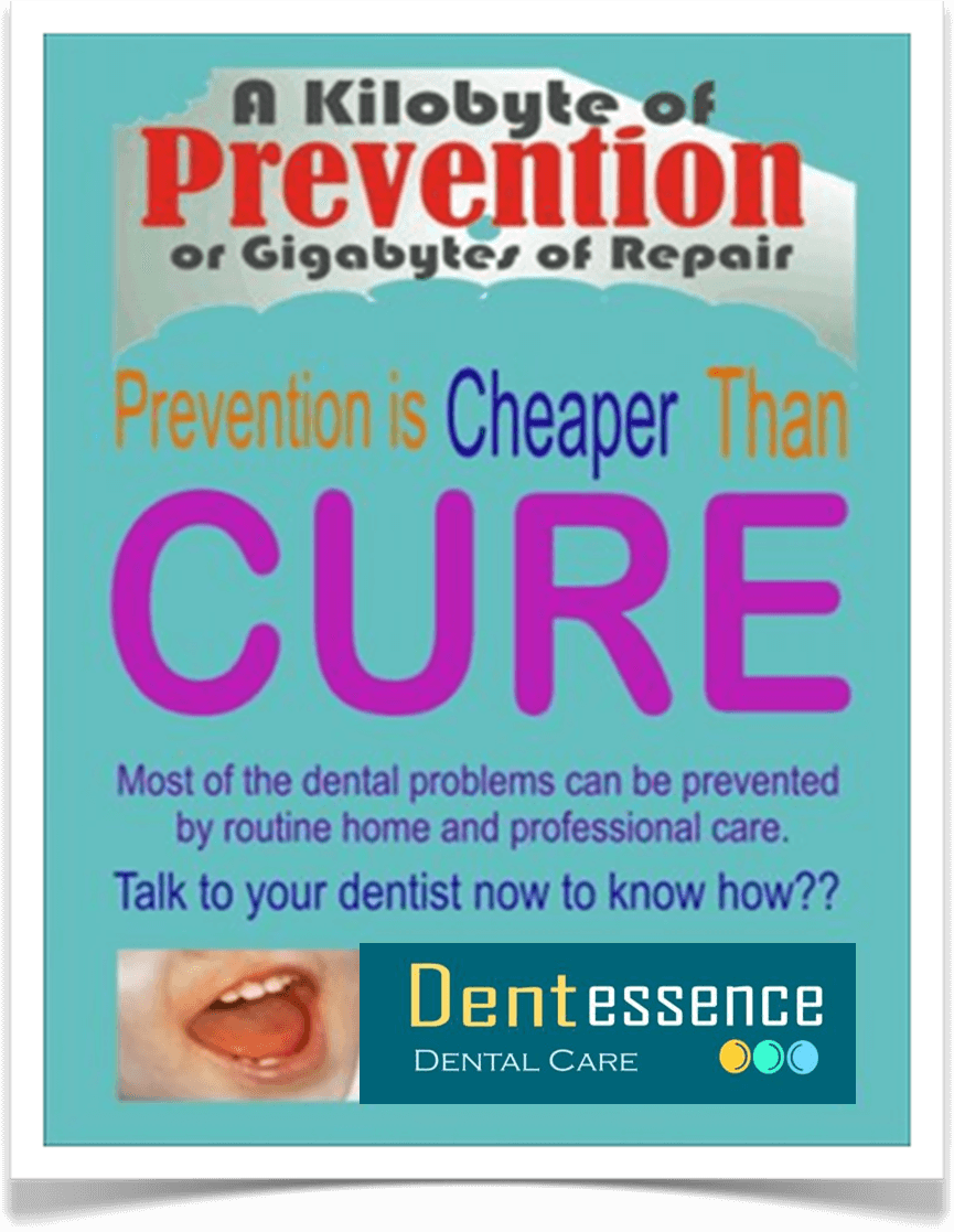 Prevention is cheaper than Cure.